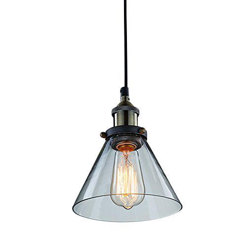 Mini industrial edison glass pendant lamp light