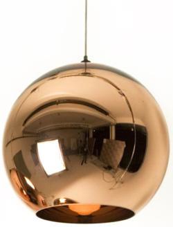 Mini Globe 1 Light, Metal Glass Electroplating Pendant Light, Chandeliers - Thumbnail 0