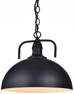 Industrial elegant black modern chain pendant lamp light