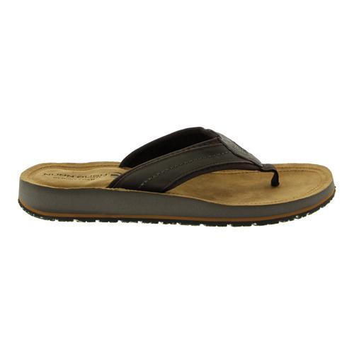 04a7888795e9 Shop Men s Nunn Bush Lakeshore 84479 Slip On Thong Sandal Brown Crazy Horse  Leather - Free Shipping On Orders Over  45 - Overstock - 11591007