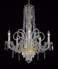 New Crystal Chandelier Lighting Venetian Style Chandelier Lighting H25x W24