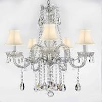 Authentic All Empress Crystal Chandelier Lighting