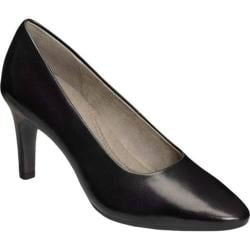 Women's Aerosoles Exquisite Black Leather