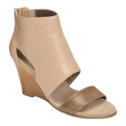Women's Aerosoles High Gloss Wedge Taupe Leather