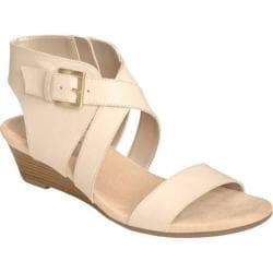 Women's Aerosoles Propryetor Wedge Sandal Bone Leather