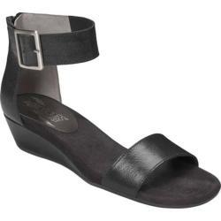 Women's Aerosoles Yeterday Black Leather