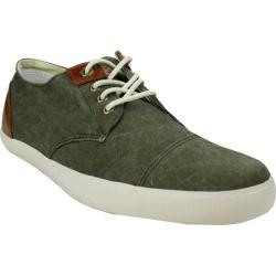Men's Burnetie Hawk Eyes- Low Lace Up Olive