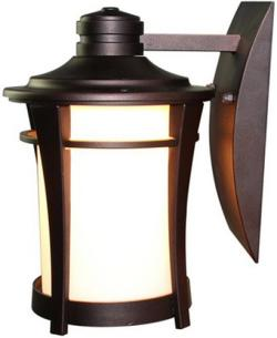 Pation porch 1 light exterior aluminum lantern wall sconce wall lamp light - Thumbnail 0