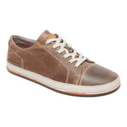 Men's Rockport Harbor Point Lace To Toe Sneaker Chocolate Leather