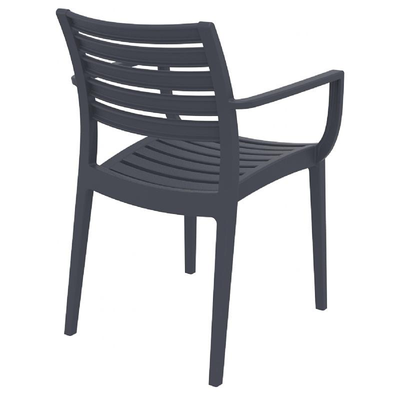 Artemis Outdoor Dining Arm Chair (Set of 2)