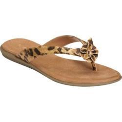 Women's Aerosoles Branchlet Leopard Combo Faux Leather Sandals