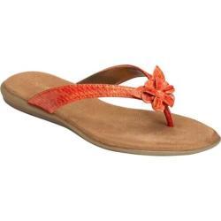 Women's Aerosoles Branchlet Orange Snake Faux Leather