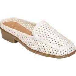 Women's Aerosoles Dubble Bath White Perfed Faux Leather
