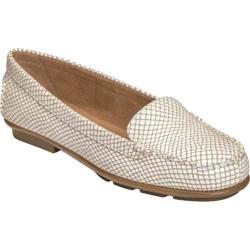 Women's Aerosoles Nu Day White Snake Leather