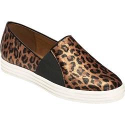 Women's Aerosoles Salt Water Slip-On Leopard Faux Metallic Leather