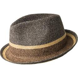 Men's Bailey of Hollywood Grimet Fedora 81697 Charcoal