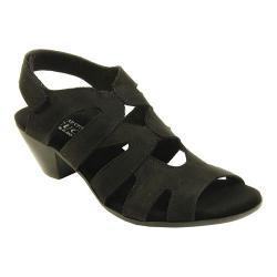 Women's Sesto Meucci Philys Sandal Black Nabuk