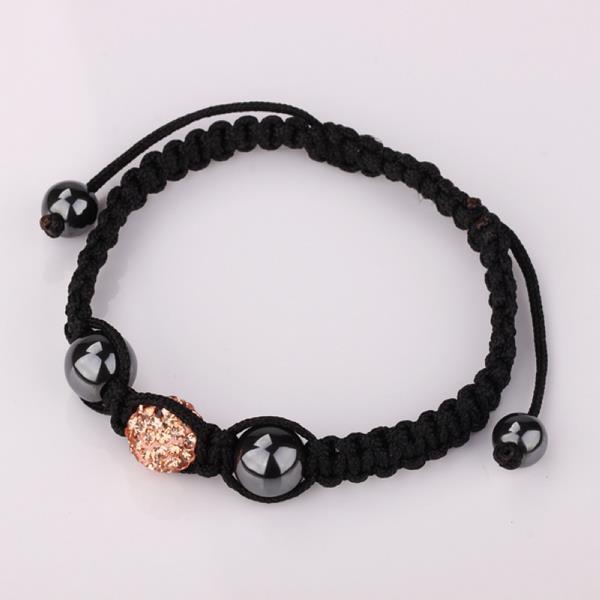 Vienna Jewelry Hand Made Swarovksi Elements Bracelet- Light Coral