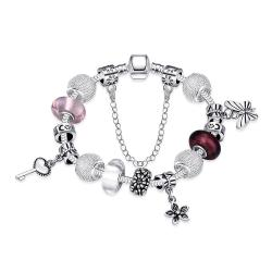 Vienna Jewelry Joyful Peace Essence Pandora Inspired Bracelet