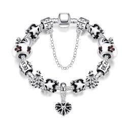Vienna Jewelry An Autamn's Night Pandora Inspired Bracelet