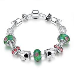 Vienna Jewelry Delicious Cotton Candy Pandora Inspired Bracelet