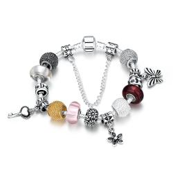 Vienna Jewelry Treasures of the Sea Pandora Inspired Bracelet