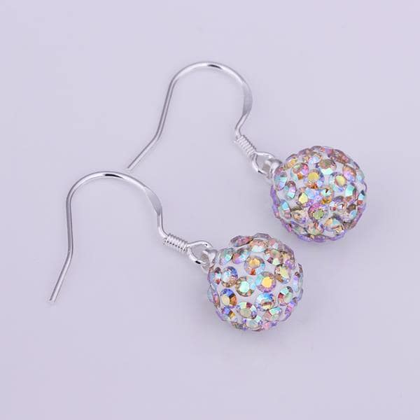 Vienna Jewelry Vivid Light Swarovksi Element Crystal Drop Earrings