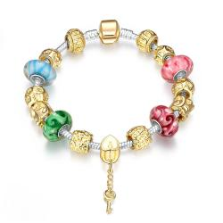 Vienna Jewelry My True Love Pandora Inspired Bracelet