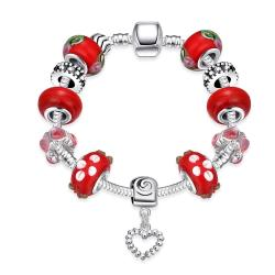 Vienna Jewelry Tis The Season Pandora Inspired Bracelet