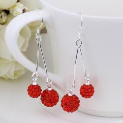 Vienna Jewelry Swarovksi Element Drop Earrings-Runy