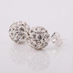 Vienna Jewelry Vivid Royal Swarovksi ElementCrystal Stud Earrings - Thumbnail 0