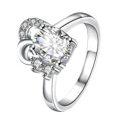 Petite Classic Crystal Curved Jewels Covering Classic Ring Size 7 - Thumbnail 0