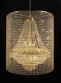 Empire Crystal Chandelier Lighting With 9 Lights