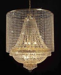 Empire Crystal Chandelier Lighting Empress Crystal Lighting