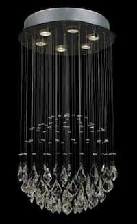 Modern Contemporary *Rain Drop* Crystal Chandelier Lighting