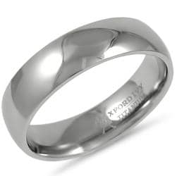Oxford Ivy Men's 6mm Comfort Fit Titanium Wedding Ring