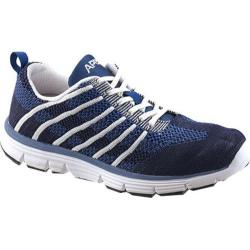 Women's Apex Breeze Athletic Knit Lace Up Sneaker Navy Knit