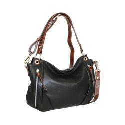 Women's Nino Bossi Lady Madonna Hobo Black