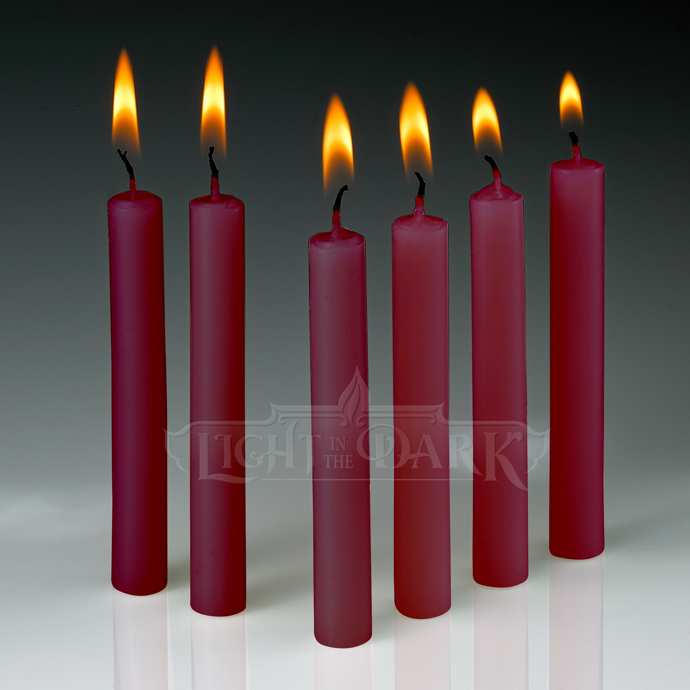 Red Taper Candles Burn 1.5 Hours (Set Of 60)