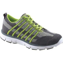 Men's Apex Bolt Athletic Knit Lace Up Sneaker Lime Knit