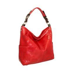 Women's Nino Bossi You Got the Beat Shoulder Bag Red