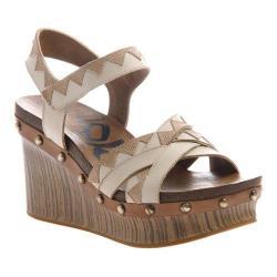 Women's OTBT Eccentric Platform Sandal Sand Leather