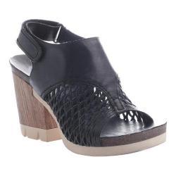 Women's OTBT Jet Set Sandal Black Leather