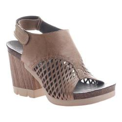 Women's OTBT Jet Set Sandal Desert Leather
