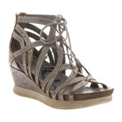 Women's OTBT Nomadic Wedge Light Pewter Leather