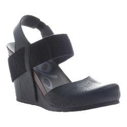 Women's OTBT Rexburg Wedge New Black Leather