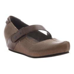 Women's OTBT Salem Mary Jane Hickory Brown Synthetic
