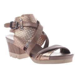 Women's OTBT Take Off Sandal Gold Leather