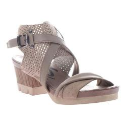 Women's OTBT Take Off Sandal Stone Leather