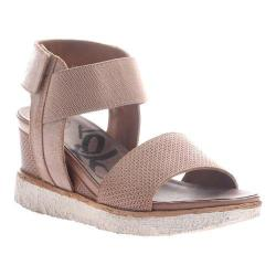 Women's OTBT Cosmos Sandal Mid Taupe Leather/Textile
